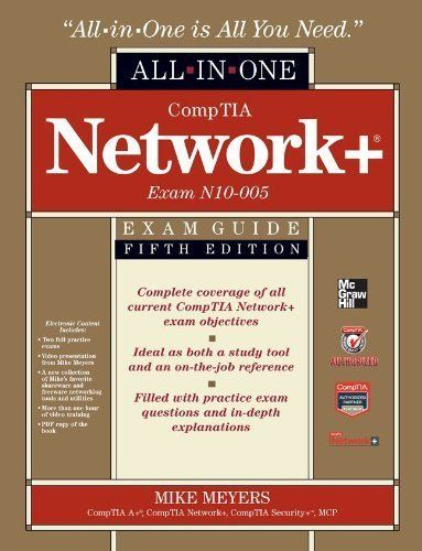 Comptia Network Certification All In One Exam Guide By Michael Meyers Exam Guide Exams Tips Exam