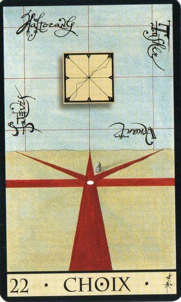 L Oracle De La Triade Carte N 22 Choix Tarot Tirage Tarot