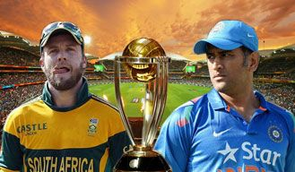 ICC Cricket World Cup: India vs South Africa Read more: http://bit.ly/1BzTyVj
