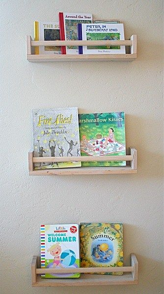 new concept 827c5 db810 Art Projects for Kids: Ikea Bookshelf from Spice Racks ...