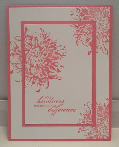 SU Blooming With Kindness in Regal Rose, double-time stamping
