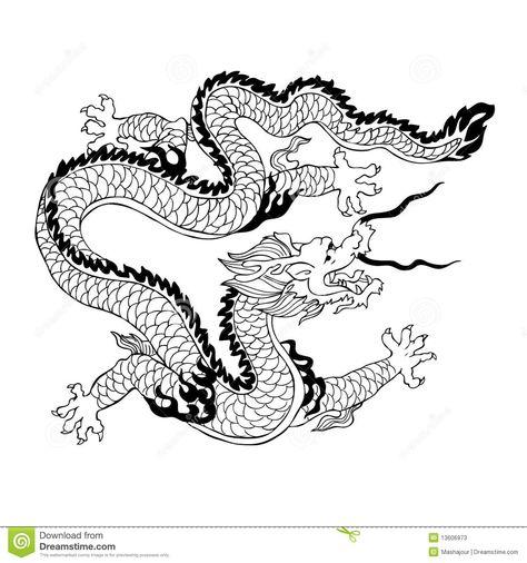Chinese Dragon Head Pattern | Chinese Dragon | Tattoo ideas ...