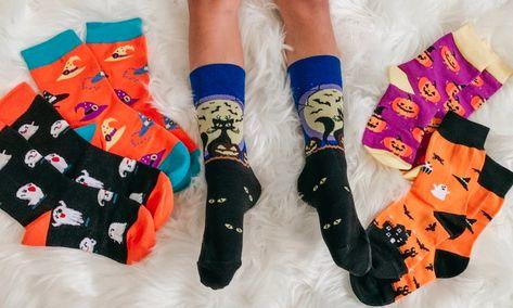 Girls Socks Mid-Calf Christmas Sheep Winter Warmth Stylish For Halloween