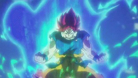 dragon ball super goku transformation gif