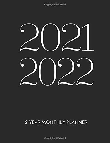 Calendar Books 2022.2021 2022 Two Year Monthly Planner 24 Months Agenda 2 Year Calendar With Notes And Priorities By M N Nguyen Monthly Planner Planner Calendar