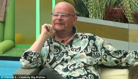 Nominated first:James Whale and Grant Bovey have been nominated for eviction from the Celebrity Big Brother house