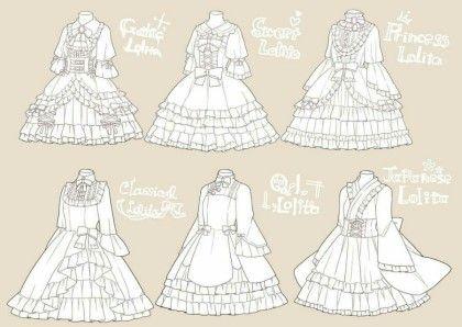 예쁜 드레스 그리기 1편 상의 : 네이버 블로그