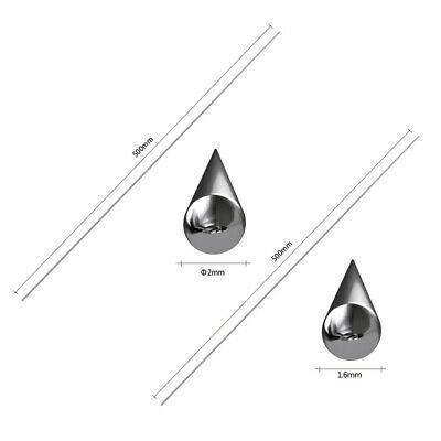 Solution Welding Accessories Flux-Cored Rods Set Aluminum Dia 1.6//2mm 50PCS