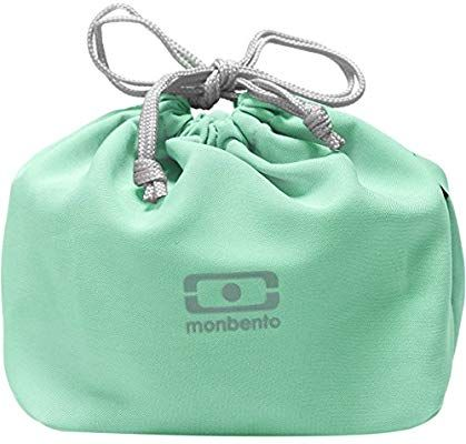 monbento MB Pochette Azul Crystal Bolsa Almuerzo para bento Box Ideal para Las Lunch Box MB Original MB Square /& MB Tresor Bolsa Porta Alimentos para Fiambrera