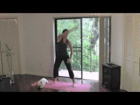 Sore? Need an active recovery workout? Try this fun, fusion Dance Stretch routine - free full length video!
