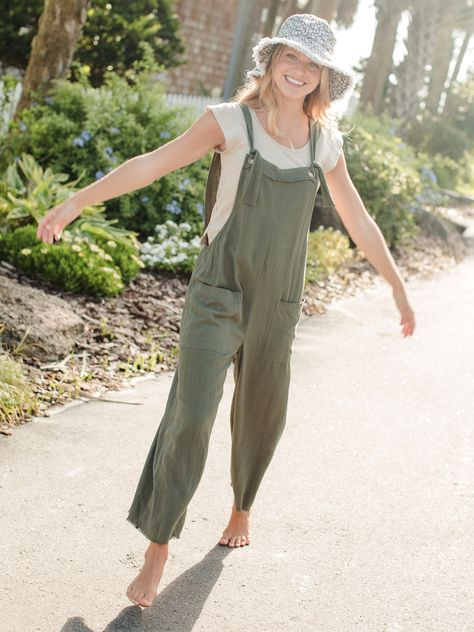 Carly Jumpsuit|Olive