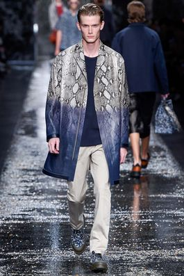 Fendi Spring 2016 Menswear Fashion Show: Complete Collection - Style.com