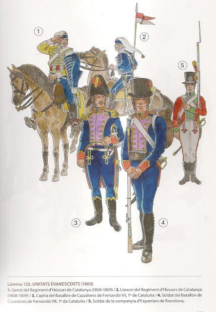 Miniaturas Militares Por Alfons Canovas Soldats Nº 11 Dels Paisos Catalans Militar Guerras Napoleonicas Fernando Vii