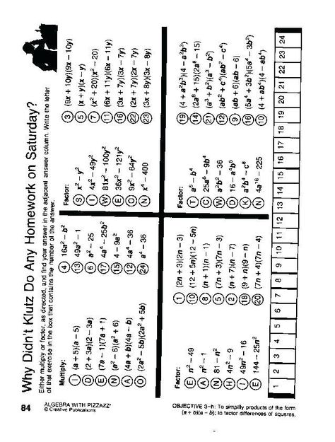 24 Double Cross Math Worksheet Answer Key Pre Algebra Puzzle Worksheets Math Worksheet Math Answers Worksheets