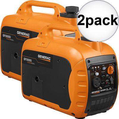 Generators 33082 Generac 7129 Gp3000i 3000 Watt Inverter Generator 2x New Buy It Now Only 1715 On Inverter Generator Generation Outdoor Power Equipment