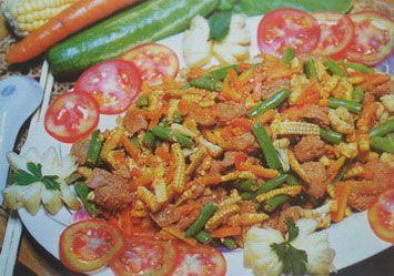 Capcai Vegetarian Ala Thai Resep Makanan Makanan Vegetarian