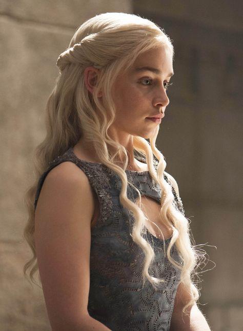 Khaleesi Daenerys Targaerean Hair Style Daenerys