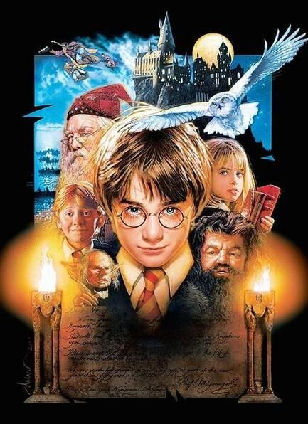 Harry Potter - Diamond Painting Kit - 8x10''/20x25cm
