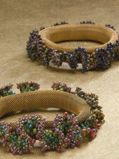 Grapevine Cuff; Gail Crosman Moore; Beadwork October/November 2014 | InterweaveStore.com