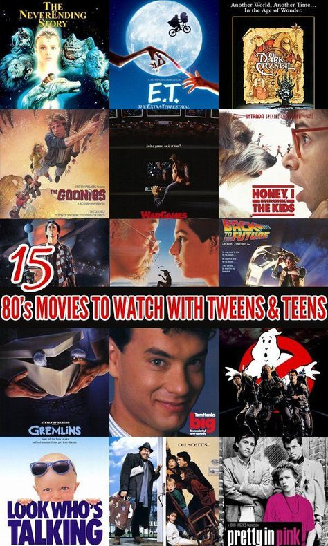 15 80's Movies to Watch With Your Tweens & Teens