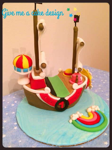 One Piece Boat Cake From Give Me A Customized Birthday At Edison New Jersey