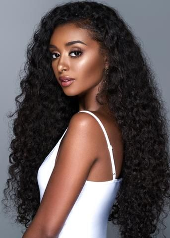 Yummy Virgin Deep Curl In 2019 Loose Curls Hairstyles