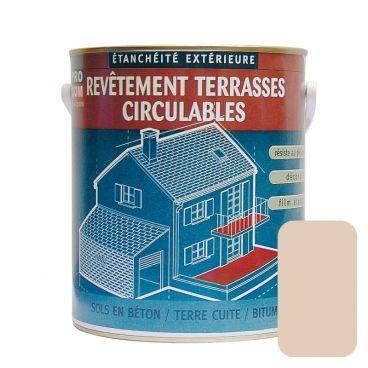 Peinture D Etancheite Impermeabilisante Pour Terrasse Circulable Balcon Sols Exterieurs Beton Plusieurs Coloris Etancheite