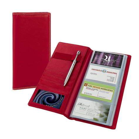 Ie Business Card Holder Red