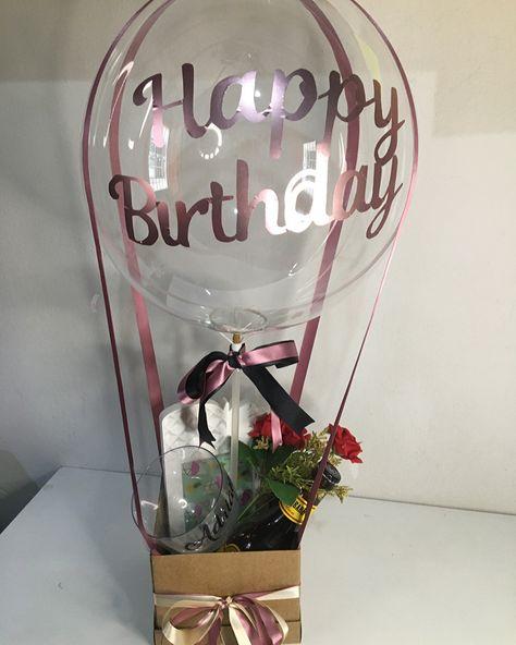 #festa #festanacaixa #presente #presentecriativo #presentepersonalizado #balloons #balloncake