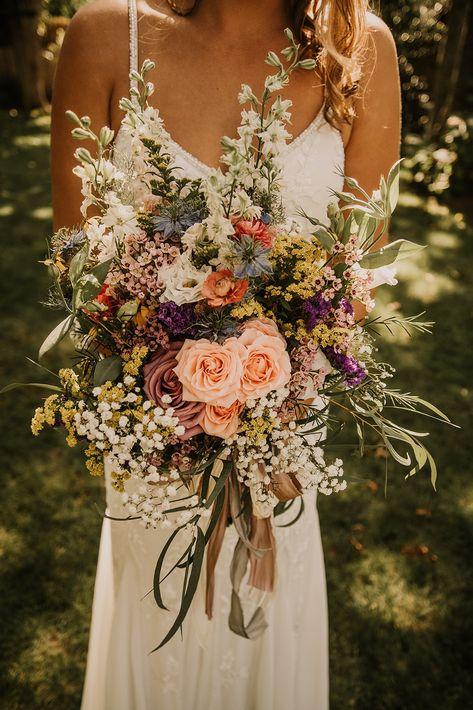 Wedding Goals, Boho Wedding, Floral Wedding, Fall Wedding, Dream Wedding, Bouquet For Wedding, Wedding Beauty, Summer Wedding Themes, Bohemian Wedding Flowers
