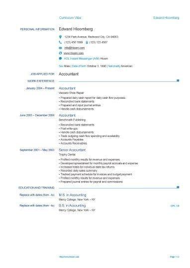 Europass Cv Template Free Resume Template Hloom