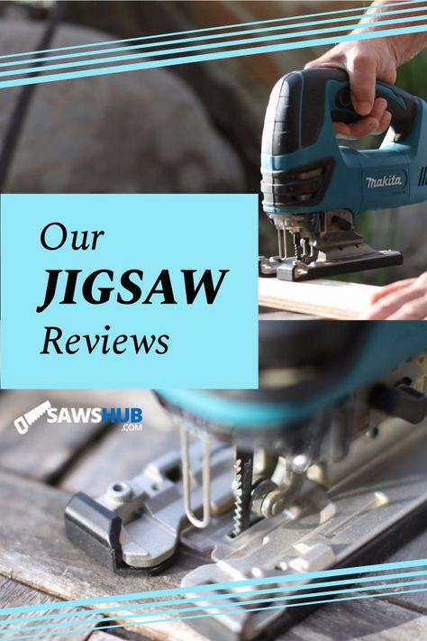 We rank and review the best jigsaws available to you, spanning a variety of price ranges and use cases. If you're looking to pick up this portable, handy saw for your next DIY home project, read this review first. #sawshub #DIY #project #woodworking #saw #jigsaw #homeimprovement