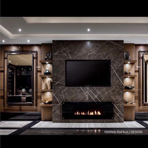 Die besten 25+ Tv wand cappuccino Ideen auf Pinterest - wohnzimmer design wande