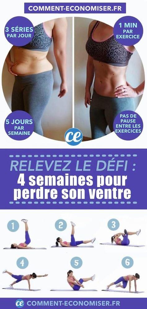 Relevez Le Défi : 4 Semaines Pour Perdre Son Petit Ventre Et Avoir des Abdos.