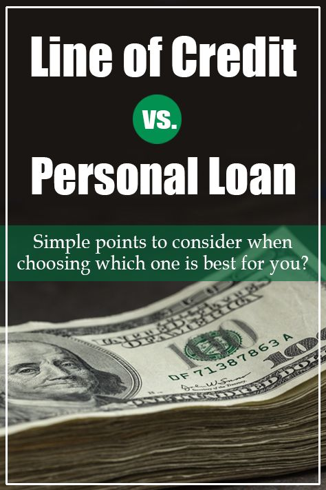 Line Of Credit Vs Loan Which One Is Right For Me Personal Loans Bad Credit Personal Loans Budgeting Money