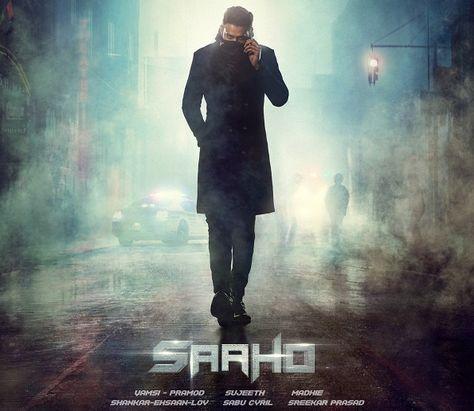 hindi dubbed movies of prabhas - saaho poster
