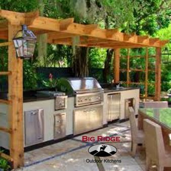 Diy Packages Build Your Own Montgomery With Images Small Outdoor Kitchens Simple Outdoor Kitchen Rustic Outdoor Kitchens