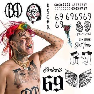 Features Benefits Bonus Pack Tekashi 6ix9ine Temporary Tattoos