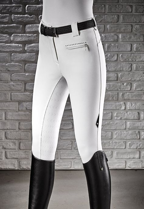 Women's breeches Equiline E-plus high-waist microfibre n08566 cecile. Italy Head office. Contacts T (+39) 049.9386552 M equiline@equiline.it