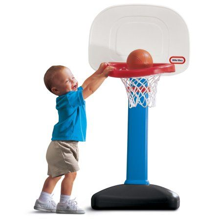 Little Tikes Totsports Easy Score Toy Basketball Set Walmart Com Toddler Basketball Hoop Best Toddler Toys Little Tikes