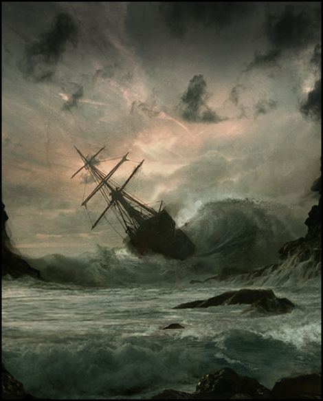 THERE once was a Great Ship that sat in the spiritual harbour of Jerusalem. Its Captain was Peter with eleven Lieutenants at his side. They had been given a Great Commission by their Admiral: