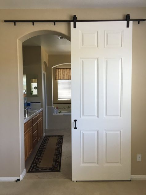 24 Trendy Interior Barn Door Diy Master Bathrooms Interior Barn Doors Diy White Barn Door Barn Doors Sliding