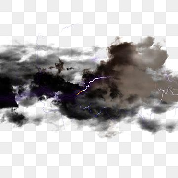 Realistic Glowing Lightning Effect Black Clouds Black Cloud Lightning Texture Png Transparent Clipart Image And Psd File For Free Download Clouds Black Clouds Clip Art