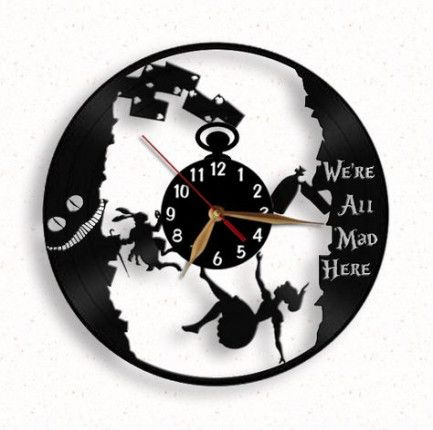 Deadpool Wall Vinyl Record Clock 12 The Best Gift For Decor Decor Homedecor Wallart Walldecor Wallclock Clock Vi Vinyl Record Clock Clock Record Clock