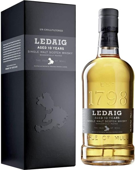 Ledaig 10 Year Old Single Malt Scotch Whisky | @Caskers