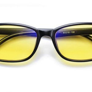 Pánske polarizované okuliare pre šoférov na jazdu v noci s čiernym rámikom   de3a93a2426