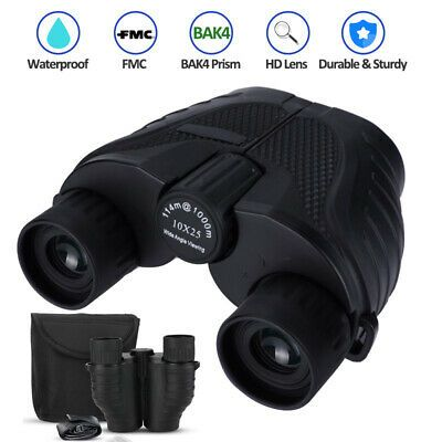 Advertisement Ebay Mini Pockets Binoculars Telescope 10x25 Compact Folding Binoculars Night Vision Binoculars Night Vision Waterproof