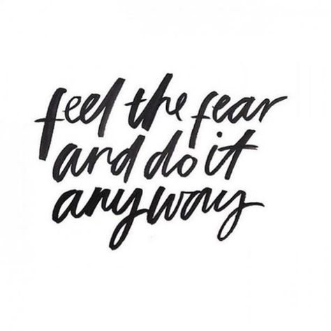 feel the fear and do it anyways   Don't miss our 50 Monday Motivational Quotes to help inspire your week!    #mondaymotivation #monday #mondaymood #mondaymorning #mondayquotes #quotestoliveby #quotes #quotesoftheday #motivationalquotes #motivationmonday #motivation #motivated