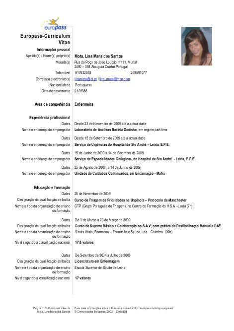 Europass-Curriculum Vitae https\/\/wwwyumpu\/pt\/document\/view - europass curriculum vitae