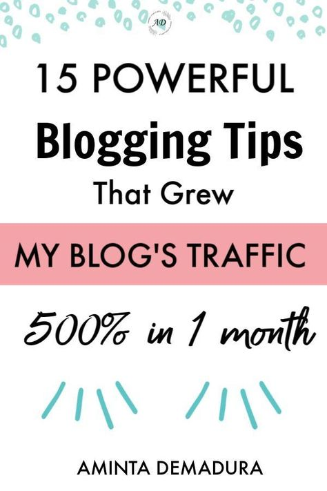 Trying to figure out how to get blog traffic as soon as possible? I was too. I spent hours trying to figure out how to hack Pinterest, social media, and SEO to get more traffic to my blog. After tons of trial and error, I was able to increase my blog traffic 500% in just 30 days! Lucky for you, I'm sharing everything I did in this post. You don't want to miss this! #bloggingtips #bloggerlife #pinterestmarketing #blogger #blogging